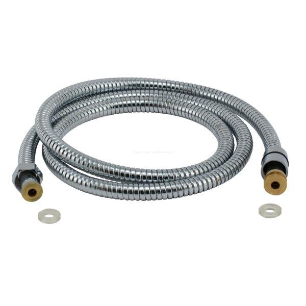 Душевой шланг 1800 мм в металлической оплетке 1/2 на 3/8 дюйма AL001