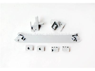 Комплект держателей боковых стекол кабины IDO Showerama 8-5 Z200026001 Z200026001