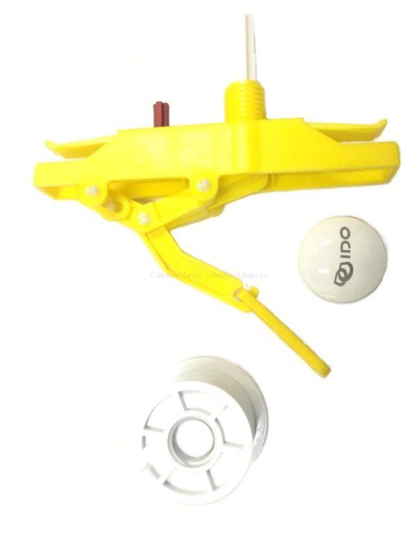 Комплект кнопки слива унитаза Ido Trevi с нажимным механизмом IDO Trevi Z6409100001
