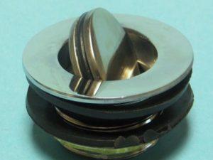 Сливной донный клапан для душевой кабины с кнопкой ER-0153